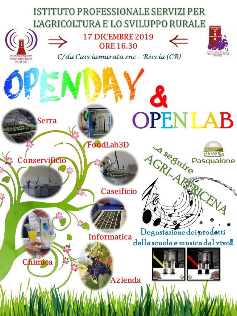 Open Day IPSASR 17 dicembre 2019