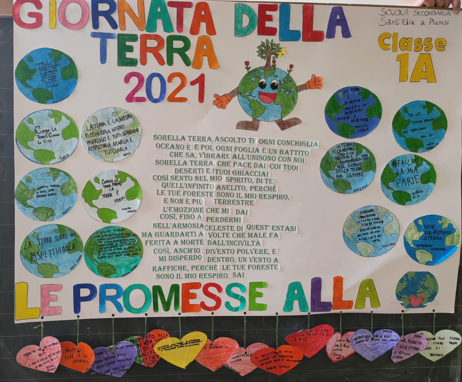 GIORNATA MONDIALE della TERRA – Scuola Secondaria di I grado Sant'Elia a Pianisi – Classe I