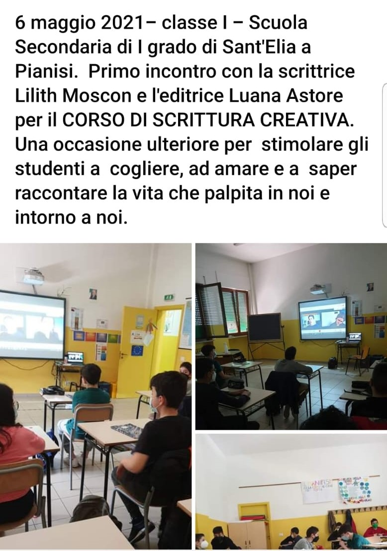 CORSO di SCRITTURA CREATIVA- Scuola Secondaria di I grado Sant'Elia a Pianisi – Classe I